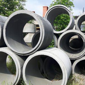 Studnie kanalizacyjne kręgi betonowe rury